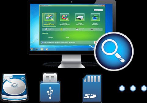 Восстановление данных из PC/USB/SD/HDD